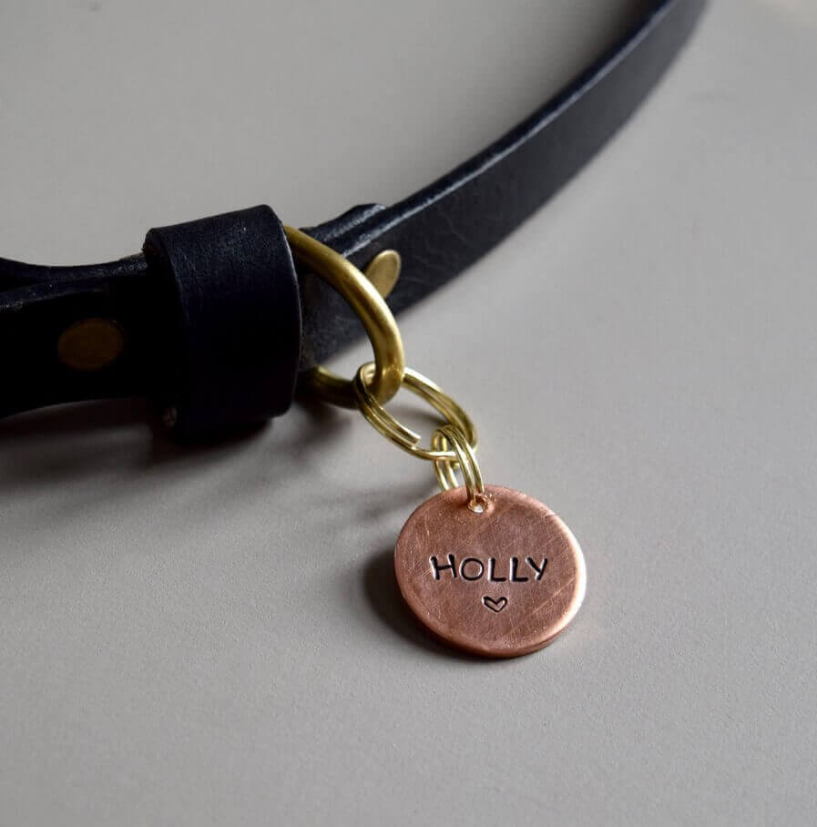 Hundemarke Kupfer Dog id tag copper