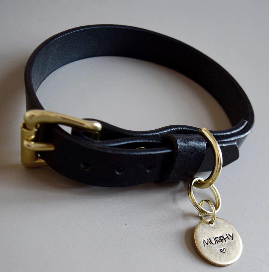 hundehalsband schwarz made for dogs. Black Bedroom Furniture Sets. Home Design Ideas