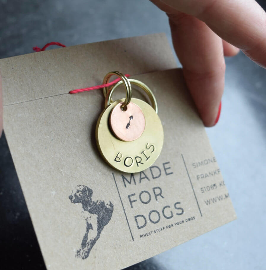 Hundeplakette von Made for Dogs