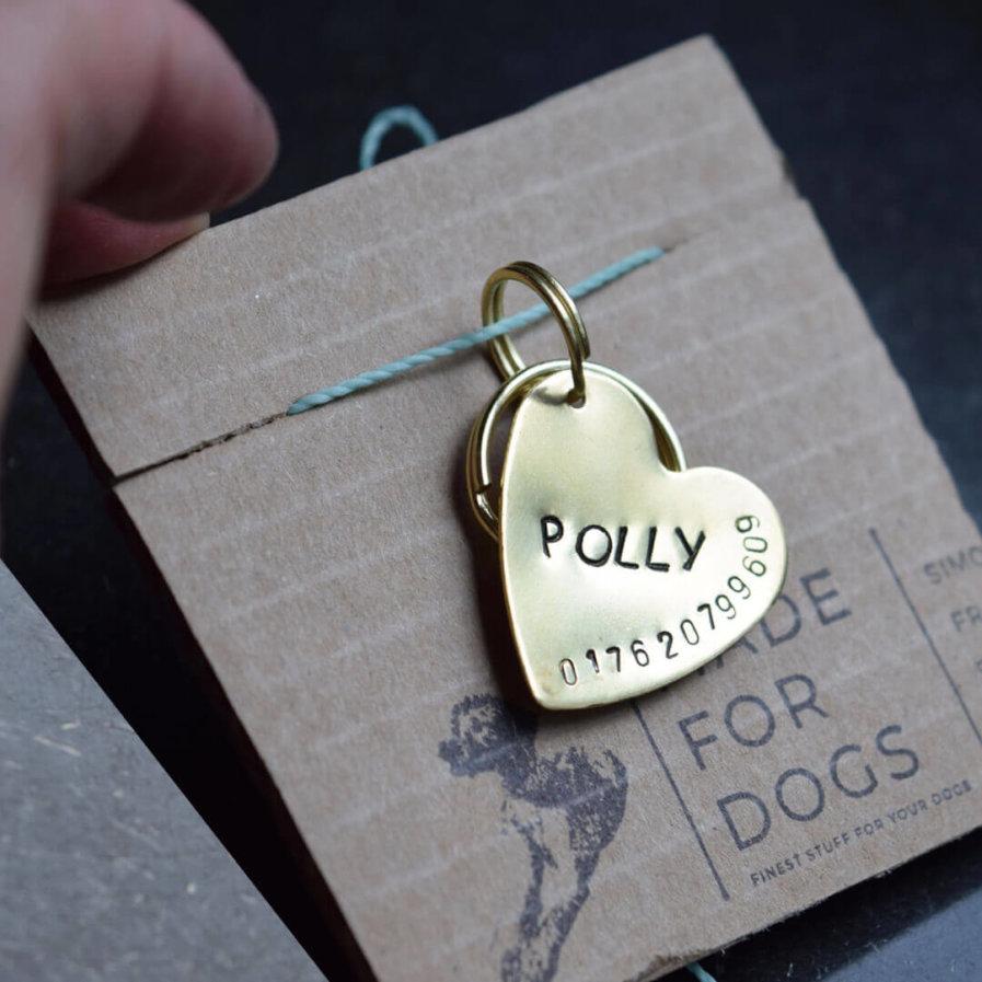 Hundemarke Herz